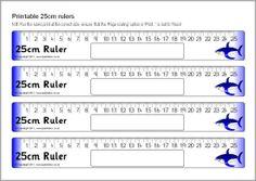 Printable rulers - cm and mm (SB4365) - SparkleBox