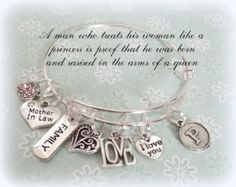 Beach Lover Charm Bracelet- Are you and your best friend beach bums all summer? Then this silver bangle is a perfect girl for your best friend. I think one for each of you would be perfect! Celebrate the good times together......the sun and the sand always helps! A great girlfriend gift!  This Dreaming of the sea bracelet was created and hand crafted with great care and pride in our craft. All of our items, including gift for beach lover bracelet, are special handmade creations that are…