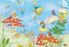Fairy Tales Wall Mural by Ideal decor 425 murals, wall murals and photo murals in all sizes. Plus tips on mural installation.