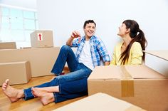 Fact: Moving in is always more fun than moving out.
