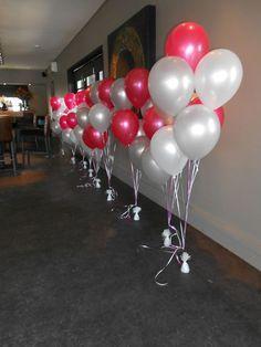 ballonnen decoratie lint pilaar - Google zoeken