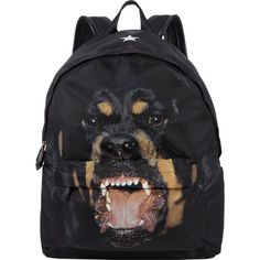 28a22a6011dc Givenchy Rottweiler-Print Classic Backpack ❤ liked on Polyvore featuring  bags