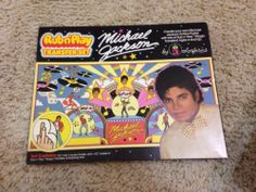 Michael Jackson Rub N Play Colorform Sealed Box Plus Free Stickers - http://www.michael-jackson-memorabilia.com/?p=15739