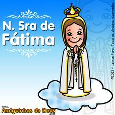 Amiguinhos de Deus: Nossa Senhora do Rosário de Fátima