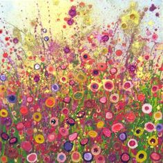 I love this, such wonderful colours - by Yvonne Coomber
