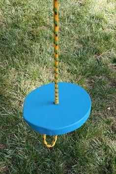 Zip A Dee Doo Dah! A zip line seat for #backyard #kidsactivites #zipline
