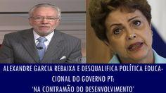 Alexandre Garcia rebaixa e desqualifica política educacional do governo ...