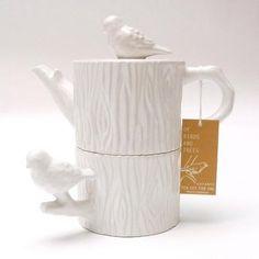 Chickadee Tea Set--to match my cake plate.