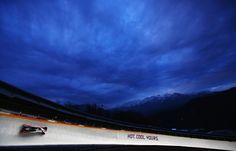 Pilot Steven Holcomb and Steven Langton of the United States team 1 in action during the Men's Two-Man Bobsleigh (c) Getty Images Bobsleigh, Usa Olympics, Two Men, Pilot, United States, Waves, Action, The Unit, Outdoor