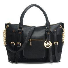42bc54035012 Michael Kors Charm Tassel Convertible Shoulder Bag Luggage · MICHAEL  Michael Kors Satchel Mcgraw Leather Large Slim Black Bag