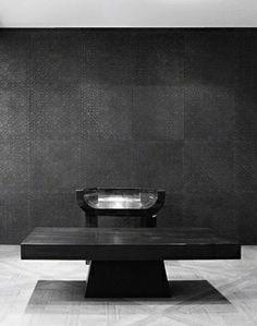 Rick Owens / #black interior