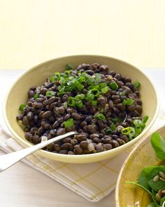 Black Beans with Lime