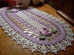 FREE DIAGRAMS ~ Crochet: Doilies
