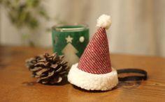 クリスマスに☆サンタ帽ヘッドバンド / ストライプ|unma