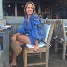 WEBSTA @ aerin - Summer night in Montauk. Heat wave but trying to stay…