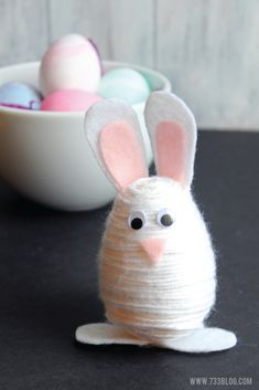 Yarn Wrapped Easter