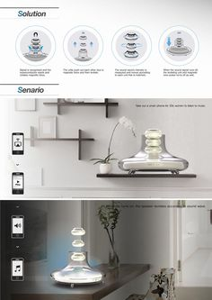 Seeing Sounds-Solution-Senario Layout Design, Ux Design, Industrial Design Sketch, Lighting Concepts, Portfolio Layout, Concept Board, Typographic Design, Presentation Design, Design Awards