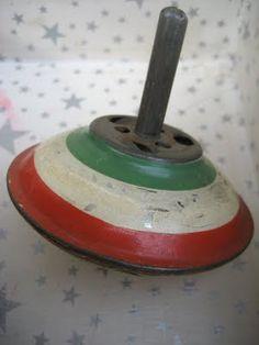 Vintage Toy Top