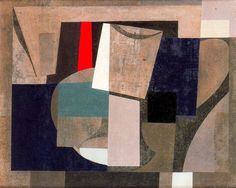Ben Nicholson ~ Abstract painter