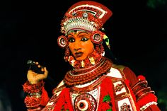 Expressive Face of Theyyam Dancer #photos #photography #artiagarwal #travel