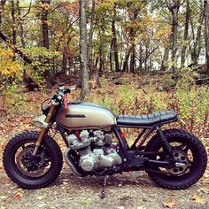 "caferacersofinstagram: ""@ray__jackson's Honda CB750 isn't staying clean much longer. #croig #caferacersofinstagram """