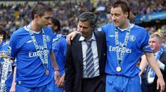 José Mourinho, Frank Lampard & John Terry