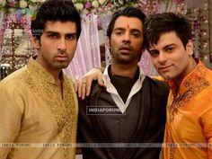 Akshay Dogra, Barun Sobti and Karan Goddwani in IPKKND