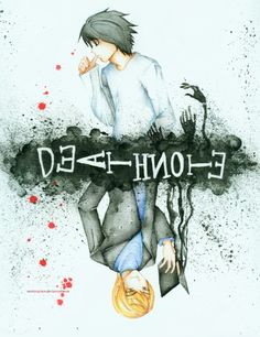 Death Note : L. Lawliet and Light Yagami by ramlyngrace