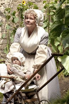 "Judi Dench as Miss Matty Jenkyns from ""Cranford"""