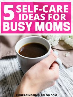 Feeling burnt out and exhausted by caring for your family? Here are 5 self-care ideas for busy moms to help you make yourself a priority again. Happy Mom, Happy Family, Family Life, Health And Beauty Tips, Health And Wellness, Mental Health, Feeling Burnt Out, Make Yourself A Priority, Self Care Routine