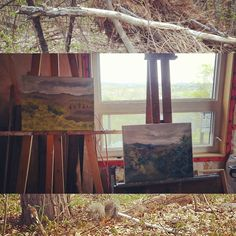 #Artistresidency in the making. Come paint in a fully equipped #studio during the #fall when we open.  http://ift.tt/27xjleF  #pleinair #torontoart #muskoka #huntsville #ontario #artist #artlife #nature #natureart #canadianart #art by treehouseartres