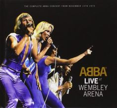 ABBA Live At Wembley Arena [2CD Deluxe Edition Book]