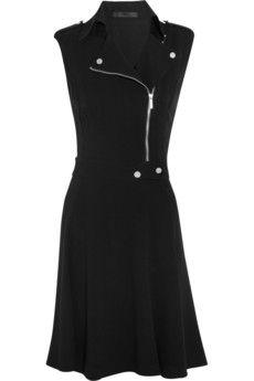 Karl Lagerfeld Donna crepe biker dress £291.67
