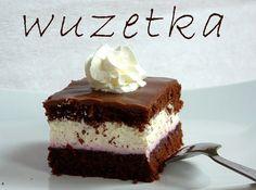 Moja urodzinowa wuzetka ;)  kaloryczność przepis ciasto z bitą śmietaną z kremem…