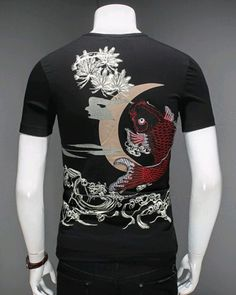 a3645a2f 21 Best Top 10 Chinese style t shirt for men images   Chinese style ...