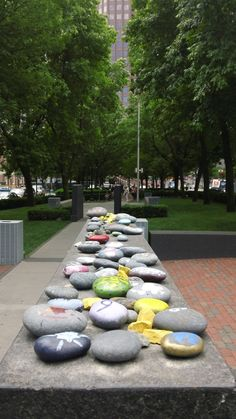 Holocaust Memorial ~ Boston, MA---really amazing all the stones which are left