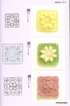 crochet square doily pattern