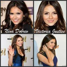 18 Nina Dobrev And Victoria Justice Ideas Victoria Justice Nina Dobrev Victoria