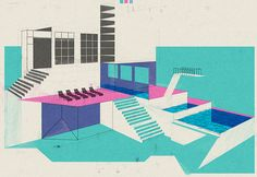 It's Nice That | Leonie Bos' architectural illustrations are informed by traditional printmaking