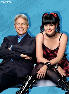 TV Guide Photo Shoot - November of 2012 // NCIS Season 10 ~ Mark Harmon and Pauley Perrette as Gibbs and Abby