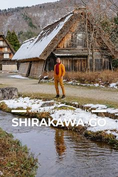 Shirakawa-go + Gifu Travel Goals! Beautiful Places to Visit for First-Timers Japan Places To Visit, Beautiful Places To Visit, Cool Places To Visit, Asia Travel, Japan Travel, Shirakawa Go, Gifu, Japan Japan, Tourist Spots