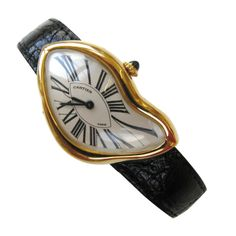 """Cartier Rare Limited Edition """"Crash"""" Watch 1991 by   Cartier"""