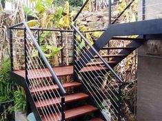 29 Ideas Exterior Stairs Architecture Stairways Design For 2019 Exterior Paint Sherwin Williams, Exterior Gray Paint, Exterior Paint Colors For House, Exterior Design, Exterior Siding Options, Exterior Stairs, Exterior Front Doors, External Staircase, House Paint Color Combination