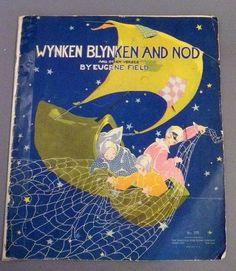 Wynken Blynken and Nod and Other Verses - 1937 Fern Bisel Peat Children's Folio - gafeqic - 博客大巴