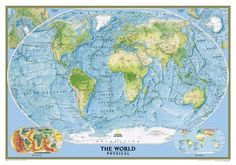 National Geographic Maps, Diagram, World, Art, Maps, Google Search, Art Background, Kunst, The World