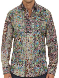 Robert Graham LOST CITY Shirt, Style RS151002, Spring 2015