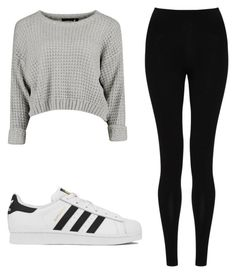 """Untitled #10"" by elenkok on Polyvore featuring M&S Collection and adidas"