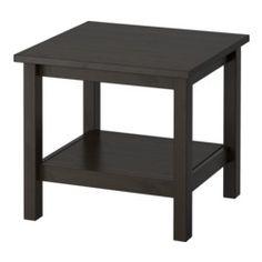 hemnes mesa auxiliar negromarrn ikea