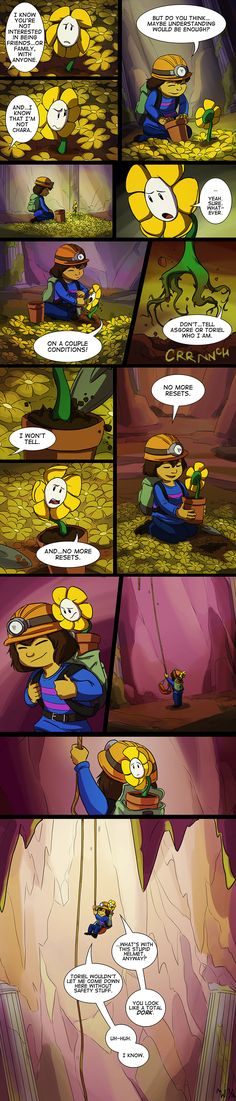 UT - Flowey Origins Part 7 by LynxGriffin