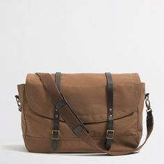 J. Crew Factory Carson Messenger Bag, $44.50 | 30 Fashionable Gifts Under $100 That Every Guy Needs
